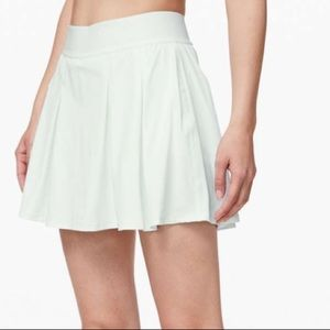 Lululemon High Rise Tennis Time Skirt-Almost Blue